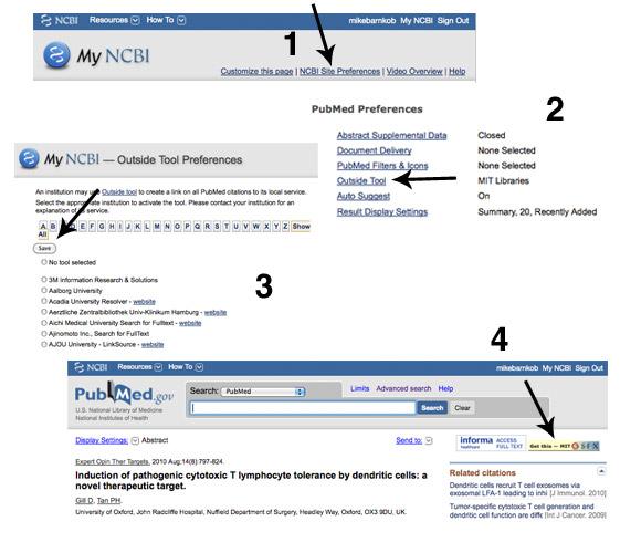 Sådan sætter du PubMed op, så du får direkte adgang til artikler