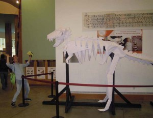 Origami T-Rex på MIT.