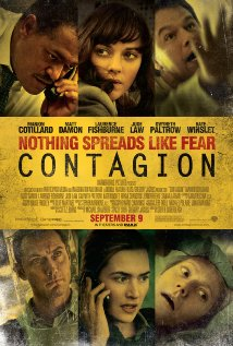 Filmplakat fra Contagion