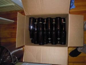 Øllen får lov at stå to uger inden vi kan smage på dem